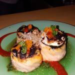 Eno's white fish & spicy shrimp rolls