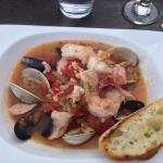 Union Grille seafood pasta