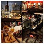 Collage de algunos momentos en Casa Leonardo