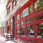 Taylor Books, an independent book store, is across the street.