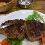 1/2 bife de chorizo x $122