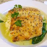 Yummy Flounder with special rice