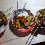 Gili Trawangan Night Market Foto