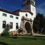Santa Barbara County Courthouse Foto