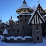 Enchanted Castle winter welcoming