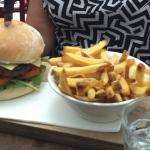 Aussie Day Lamb Burger