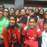 Maldives team at atithi.. South Asian Games 2016