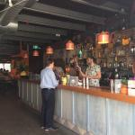 Full bar, great atmosphere