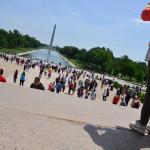 Foto di Lincoln Memorial e la reflecting pool