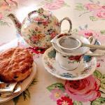 Excellent tea & scone!