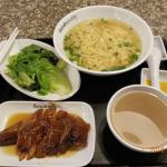 Hong Kong roasted goose set, with noodle