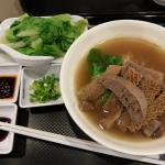 beef varieties noodle, lots of other mixture to choose from