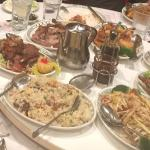 We had called for the 6 person Buffet. The Portions are huge and Tasty