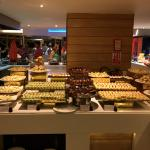 Buffet de desserts au self