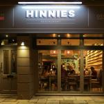 Exterior of Hinnies Restaurant