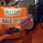 Tasty Kale Chips n