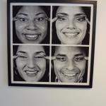 Exposição de fotos e artes dentro da UFPR