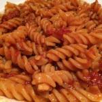 Arrabbiata with Gluten Free Pasta