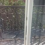 Balcony, room 208