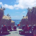 Perissa Beach Foto
