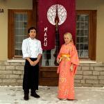 """Japanese restaurant """"Haku"""""""