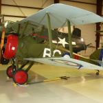 This Sopwith Camel, parked right next to its German counterpart.....
