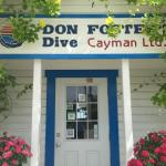 Entrance to Don Foster's Dive