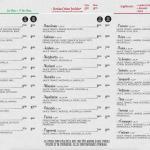 Don Milano menu