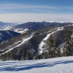 Top of the mountain - clear and cool with fantastic groomed conditions.