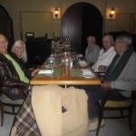 Cena con amigos en La Cuccina