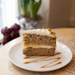 Homemade yummy cake at local cafe - Seasons Cafe and Deli