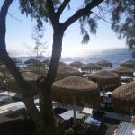 Kamari Beach Foto