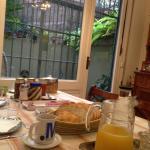 El exquisito desayuno!