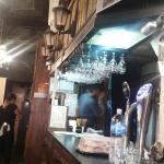 Interior del café del arbol