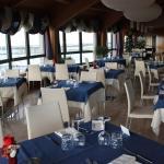 Sala da pranzo al 6° piano con vista panoramica
