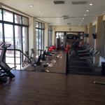 Gym, new equipment