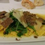ravioli truffel parmezaan met botersalie sausje