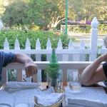 Dining on the Panamonte veranda