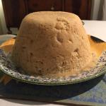 Homemade steamed suet dumpling
