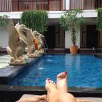 The Magani Hotel was a delight! The modern balinese interior and well positioned location within