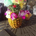 20$ pineapple drink(was kinda weak) but taste good