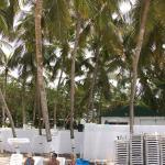Servicio de playa el agua ofrecido por el hotel