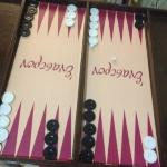 Playing backgamon