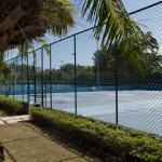 Terrains de tennis + Terrains de basketball