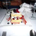 Delicious berry shortcake - wanted to go back another time for more!