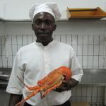 Lobster meny.