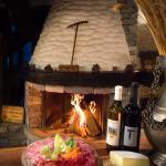 Restaurant et cheminée