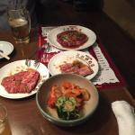 Foto de Charcoal fire grilled meat Mitsubayashi meat shop
