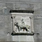 Relief des h. Viktor  an der Südseite