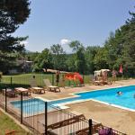Zwembad en herberg